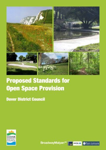 Proposed Standards for Open Space Provision - Dover District Council