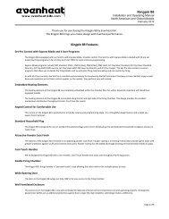 Kingpin 88 Product Manual - Evenheat Kilns