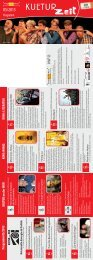 HONIG KINO: LITERATUR Programm 05/2013 KULTUR an der MUR