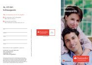 Bausparen. - Santander Consumer Bank