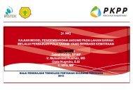 presentase evaluasi kinerja - PKPP