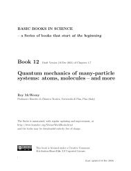 Quantum mechanics of many-particle systems: atoms, molecules ...
