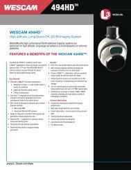 wescam 494hdtm - L-3 Communications