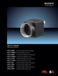 XCL-C Series - Sony