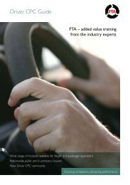 Driver CPC Guide - Freight Transport Association