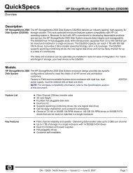HP StorageWorks 2500 Disk System (DS2500) - Compaq - Hewlett ...