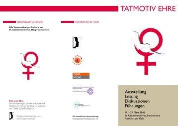 Tatmotiv Ehre (PDF 121.3 KB) - Frankfurt am Main