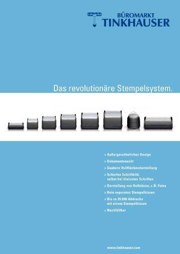 Das revolutionäre Stempelsystem. - Tinkhauser