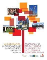 Proposition 2013-2018 de renouvellement de l'IDC - Conseil ...