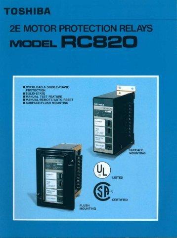 RC820 Brochure - Toshiba