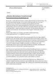 Schulen übernehmen Verantwortung - Stiftung Brandenburger Tor