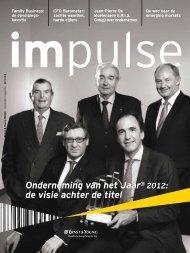 Onderneming van het Jaar® 2012: de visie achter ... - Ernst & Young
