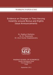 Evidence on Changes in Time Varying Volatility around Bonus and ...