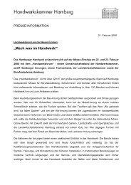 Mach was im Handwerk! - Handwerkskammer Hamburg