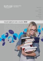Estude Inglês em todo o mundo 2010
