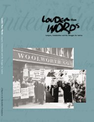 Louder Than Words: Lawyers, Communities and the Struggle for ...
