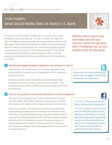 What Social Media Tells Us About U.S. Bank - Beyond the Arc