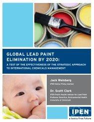 Global lead Paint elimination by 2020: a test - International POPs ...