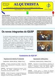 Alquimista nº 52 - Instituto de Química - USP