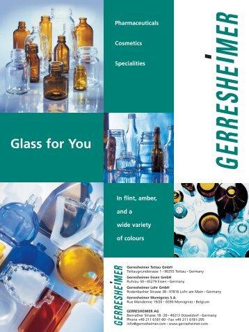 Glass for You - Gerresheimer