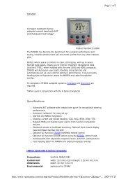 Raymarine ST60 multi pdf - Regina - Sail Training