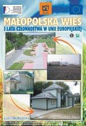 Małopolska Wieś 3 lata członkostwa w Unii Europejskiej