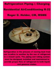 Refrigeration Piping Charging Residential AirConditioning R