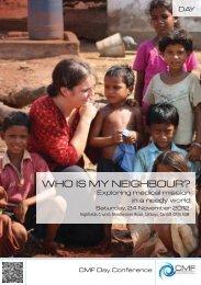 WHO IS MY NEIGHBOUR? - Christian Medical Fellowship