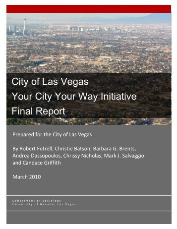 Final Report - City of Las Vegas