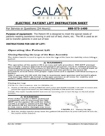 boat lift operating instructions