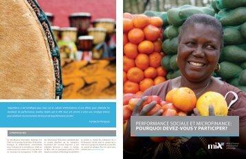 participer? - Microfinance Information Exchange