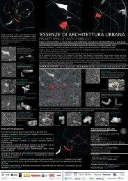 'essenze' di architettura urbana - Fondazione dell'Ordine degli ...