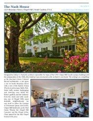 PDF here - North Carolina Estates