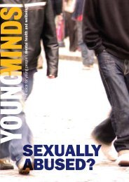 Sexually abused? YoungMinds Leaflet