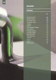 BUILDERS Contents - Gibb Tools