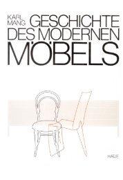 Karl Mang: Die Geschichte des modernen Möbels