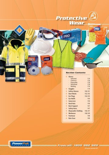 Protective Wear Section - PowerPak Packaging Supplies
