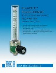 FLO-RITE™ SERIES FR6000 - Apex Instruments, Inc.