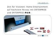 Home-Entertainment auf höchstem Niveau mit ... - 4DiMotion.de