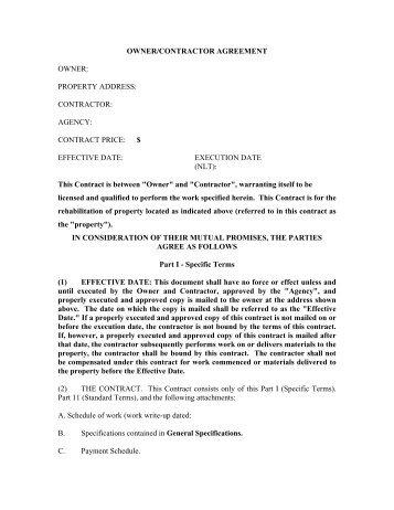 Piu agreement no date client home owner contractor structure ownercontractor agreement owner arkansas platinumwayz