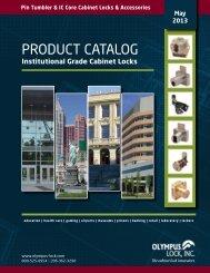 PRODUCT CATALOG - Olympus Lock