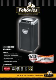 Fellowes MicroShred 460Cs Brochure.pdf - Trade Shredders