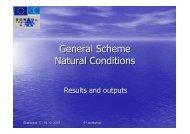 General Scheme Natural Conditions - Donauregionen