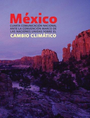 México - Cuarta Comunicación Nacional ante la CMNUCC - peccuv