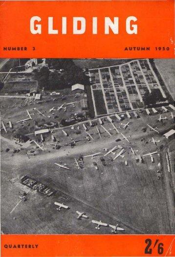 Gliding 1950 - Lakes Gliding Club