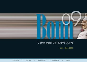 Bonn Brochure - All Bake Services
