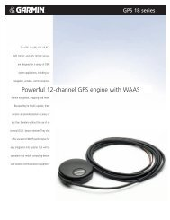 Powerful 12-channel GPS engine with WAAS - dream-shop.at