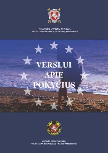 Verslui apie pokyčius - Lietuvos Respublikos muitinė