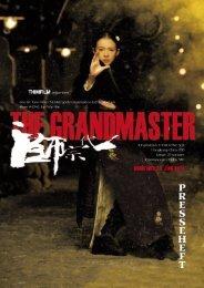 THE GRANDMASTER - Presseheft - Thimfilm
