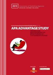 APA ADVANTAGE STUDY - Swedish Content Agencies
